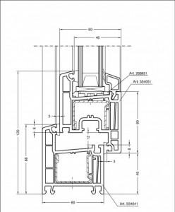 Rehau Thermo design 70a