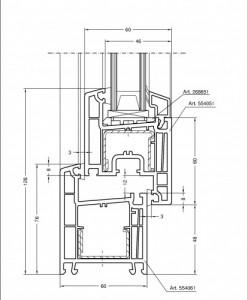 Rehau Thermo design 70b
